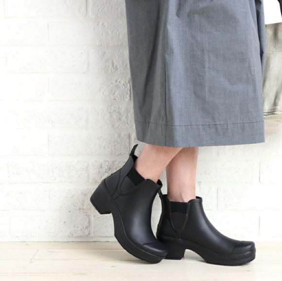 DANSKO Rosa Rubber Boot Clog Size 39